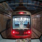 بروز نقص فنی درخط یک قطارشهری مشهد