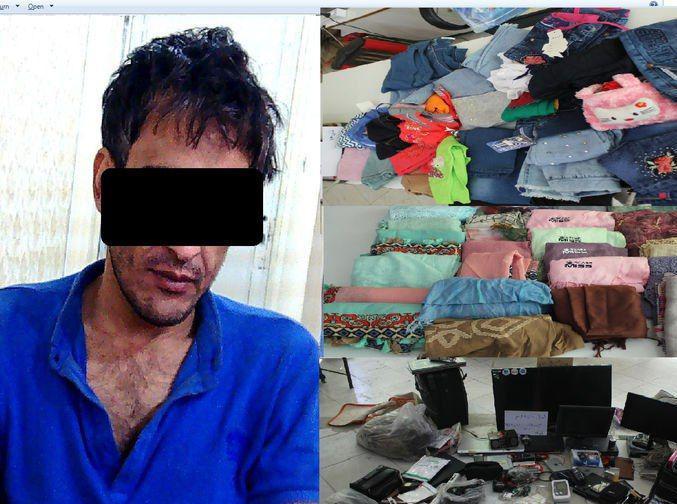 دزد سریالی قاسمآباد مشهد به دام افتاد