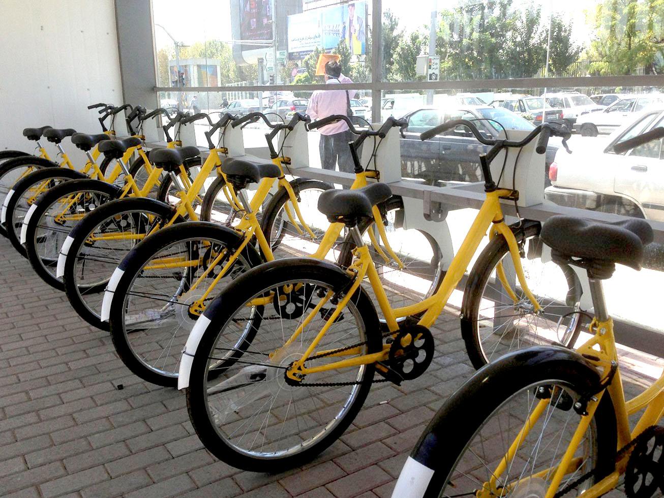دوچرخه های بی سوار
