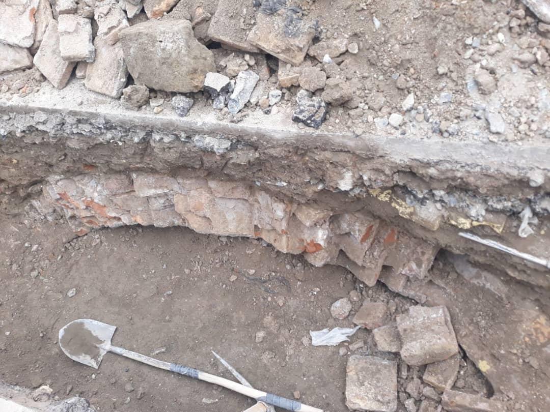 سازه مکشوفه در منطقه ثامن مشهد دارای قدمت تاریخی است