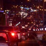 پل ترافیک و تصادف