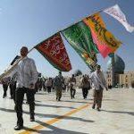 ورود اولین کاروان پیاده به مشهد در ۲۱ تیر